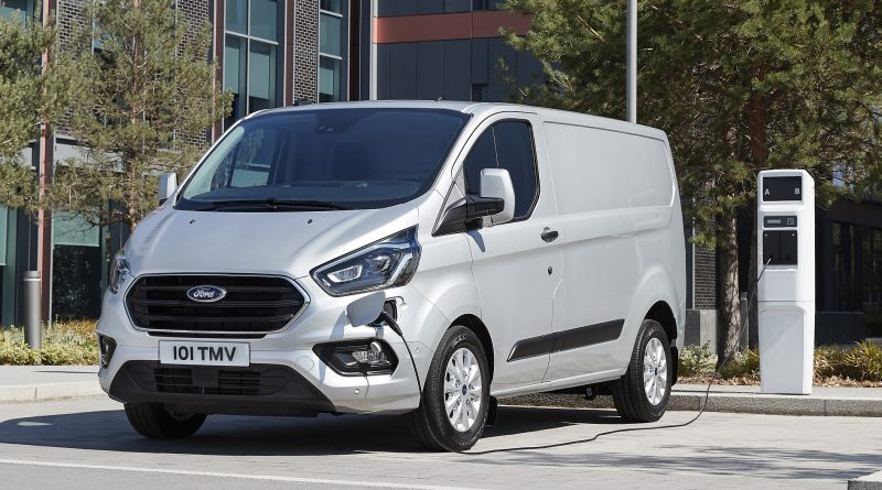 Ford Transit Custom PHEV 2019