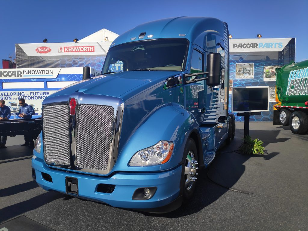 Kenworth T680S Hydrogen fuel-cell