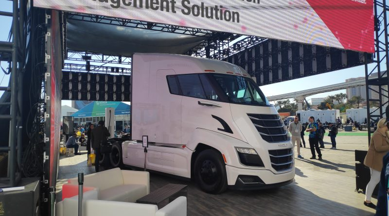 Nikola - Ryder Trucks partnership