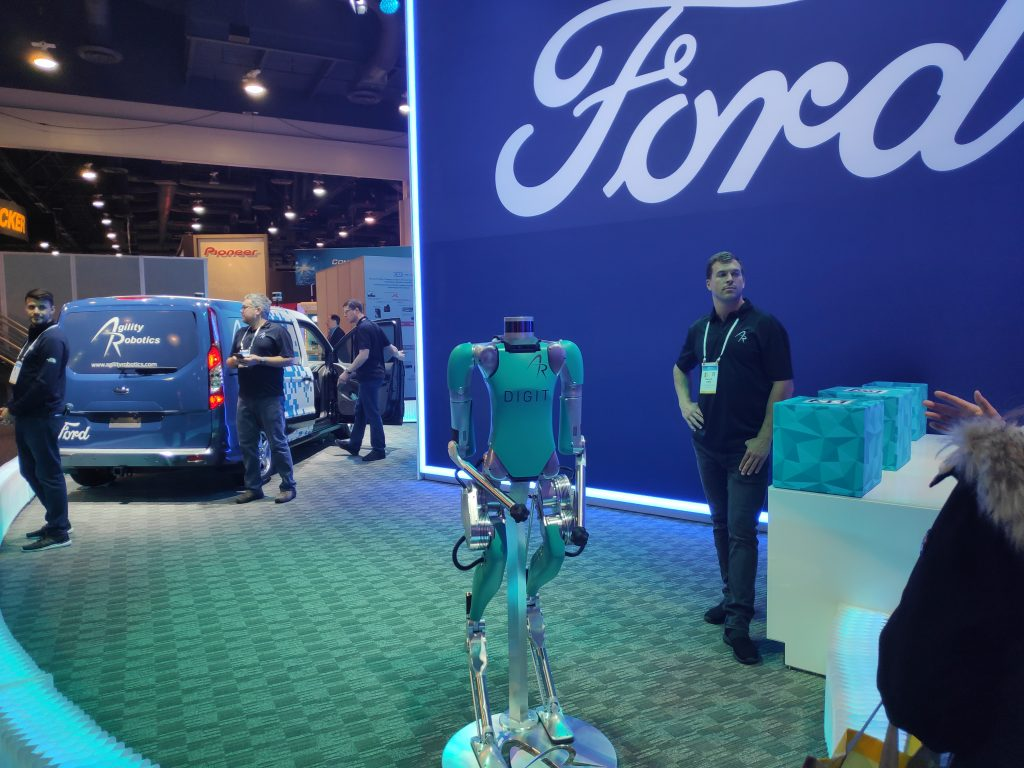 Ford and Agility Robotics