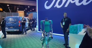 Ford and Agility Robotics at CES 2020