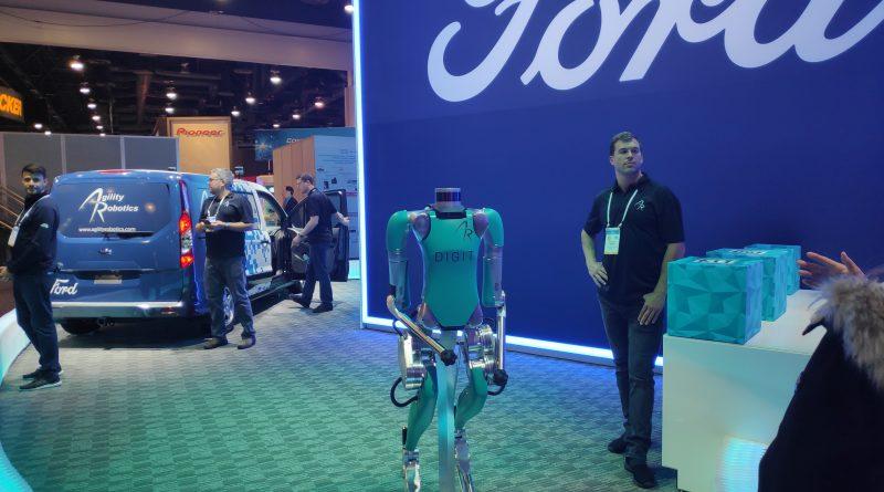 Ford and Agility Robotics