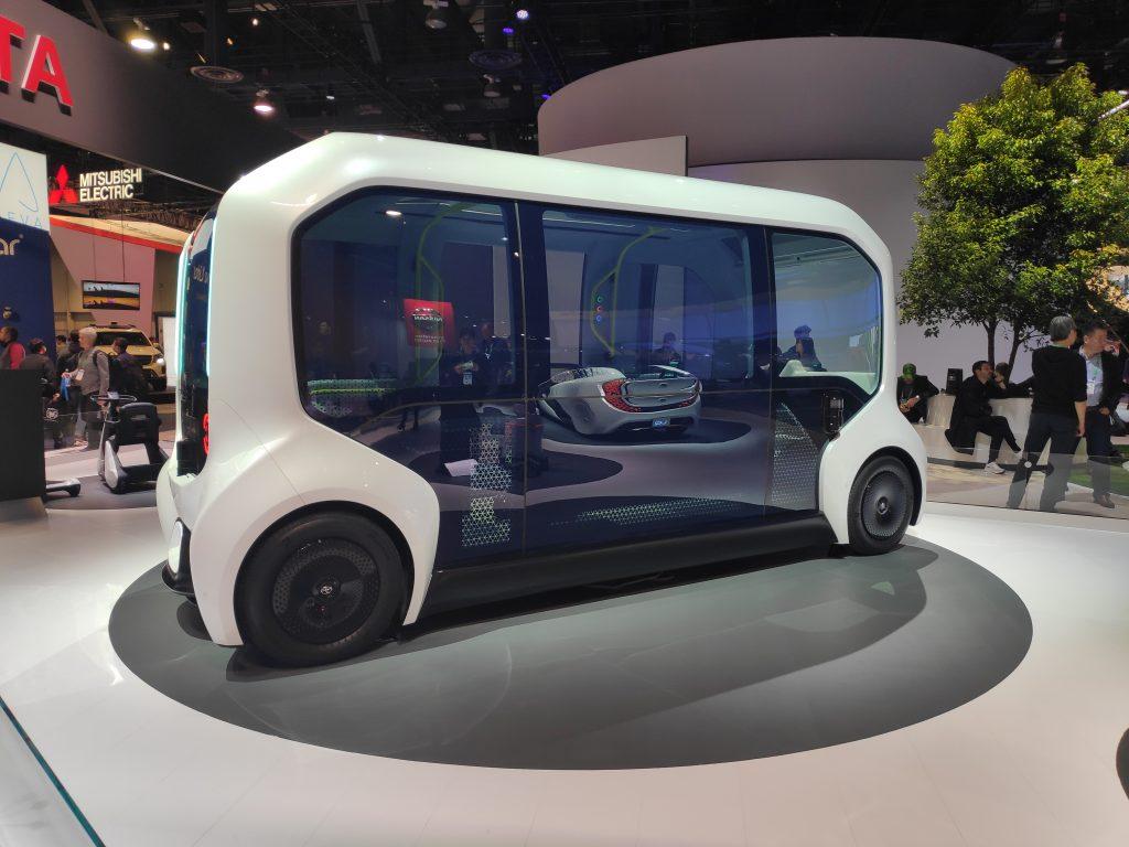 Toyota ePalette electric concept