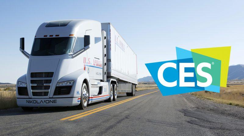 CES 2020 Trucks