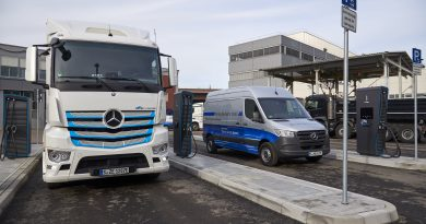 Daimler starts rapid charge systems for headquarters