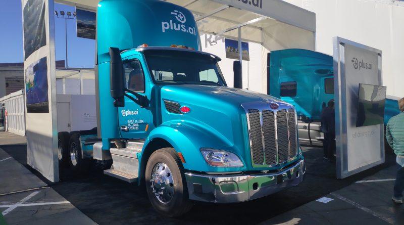 Plus.AI Autonomous Truck