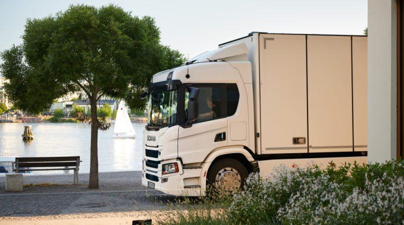 Scania 25 P BEV 6x2