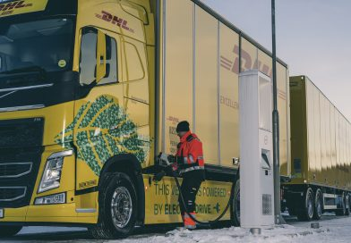 Volvo Trucks and DHL pioneer long distance electric trucks