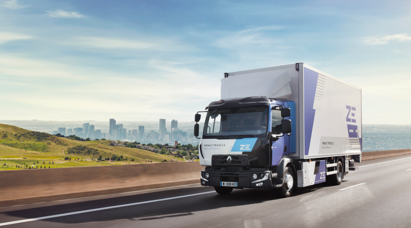 RENAULT TRUCKS GO ELECTRIC FOR EVERY SECTOR BY 2023