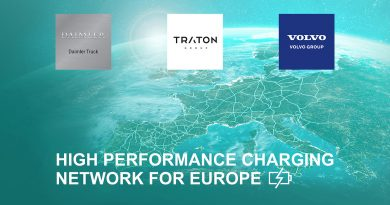 Daimler,TRATON and Volvo charge up