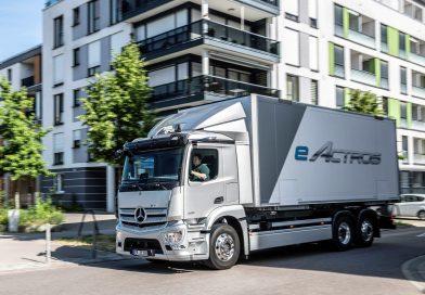 New Mercedes-Benz eActros